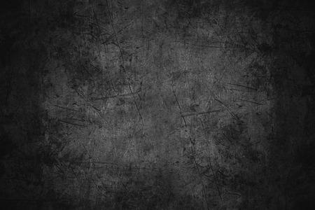 검은 긁힌 금속 질감 또는 거친 패턴 철 배경