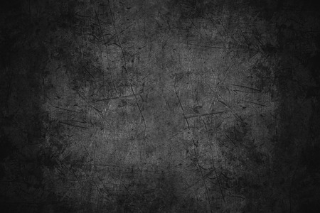 black scratched metal texture or rough pattern iron background