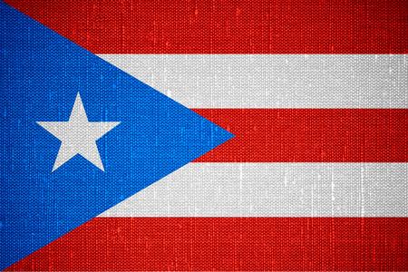 bandera de puerto rico: la bandera de la bandera de Puerto Rico o de Puerto Rico en el fondo de la lona