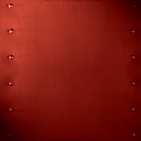 red metal: abstract red metal background or smooth plate texture