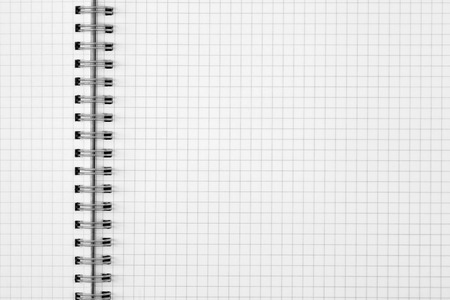grid paper: exercise book paper sheet background or grid pattern texture