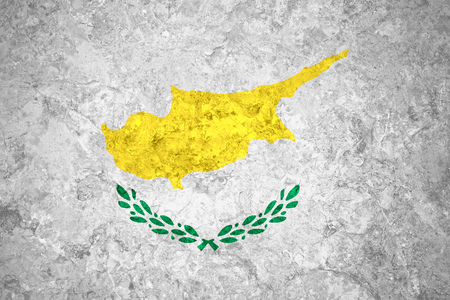 cypriot: flag of Cyprus or Cypriot banner on vintage background