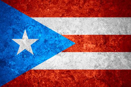 bandera de puerto rico: la bandera de la bandera de Puerto Rico o de Puerto Rico en el fondo de la vendimia