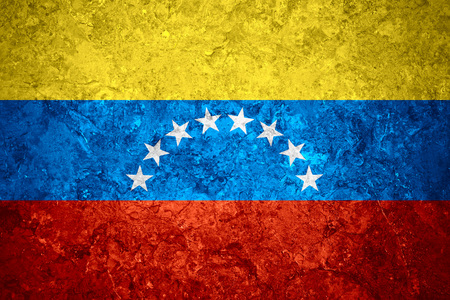 venezuelan: flag of Venezuela or Venezuelan banner on vintage background