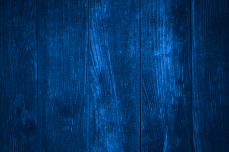 blue wooden background or wood grain pattern texture