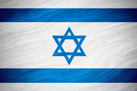 israeli: flag of Israel or Israeli banner on abstract background