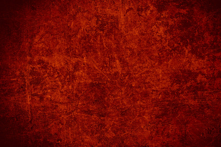 rust red: red steel plate texture or old rust scratched metal abstract background