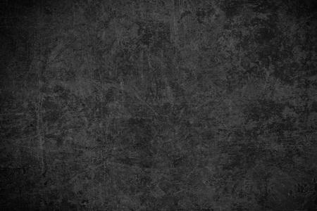 黒鋼板テクスチャまたは古い錆傷金属の抽象的な背景 写真素材