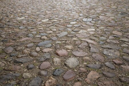 old color stone pavement or abstract background 版權商用圖片