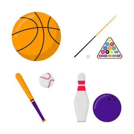 Basketball ball, ball Stock Illustratie