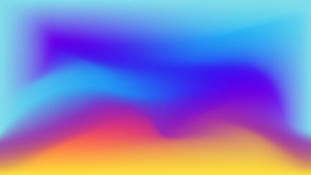 Creative abstract fluide shape pattern background or wallpaper. Trendy, colorful vibrant gradient mesh shapes composition texture.  イラスト・ベクター素材