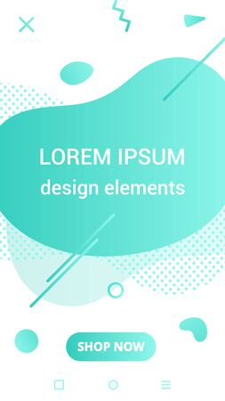 Liquid color stripes design style vector design fluid for flow, banner, brochure, isolated on white background.