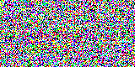 TV screen noise pixel glitch texture background vector illustration. Analog TV static video noise. No video signal concept. 向量圖像