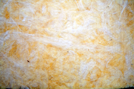 The texture of mineral wool for insulating the walls Insulation for the roof and walls of the house mineral wool