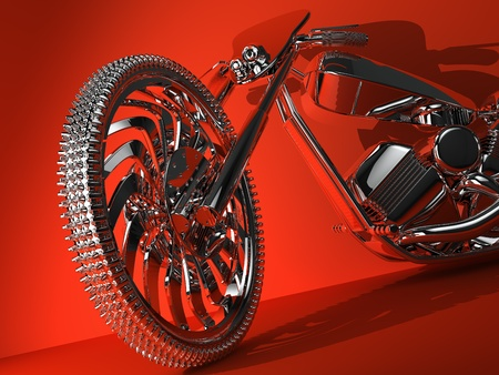 tricycle: Beautiful motorcycle