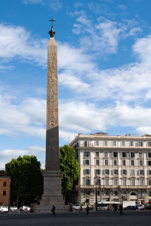 Monolith: Constantine obelisk - the largest monolith in the world, Rome, Italy