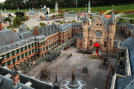 Netherlands in miniature in the Madurodam open air museum, The Hague, Holland