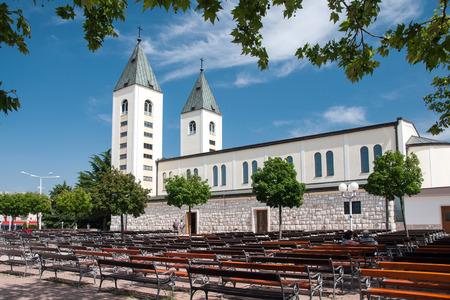 virgin mary mother of god: Saint James church of Medjugorje in Herzegovina Where Blessed Virgin Mary appeared to six children in June 1981
