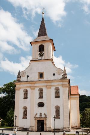 enduring: St. John the Baptist church in Enduring Freedom, Czech Republic