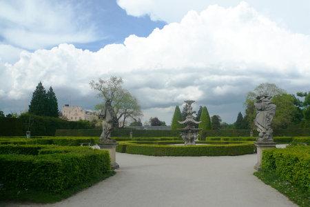 レドニツェ城公園レドニツェ ・ ...