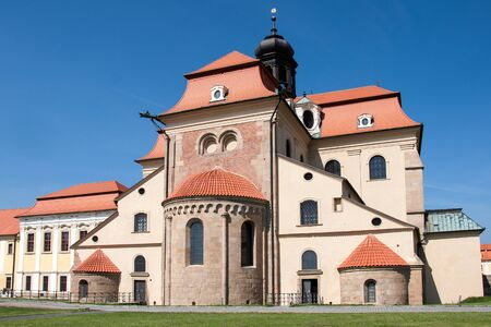 Velehrad Cathedral. Velehrad is an important spiritual center, a place of religious pilgrimage and celebrations in Czech Republic