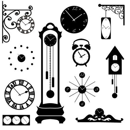 reloj cucu: colección de reloj y reloj, el elemento interior negro