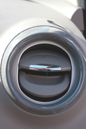 blow hole: car ventilation and cooling part of car