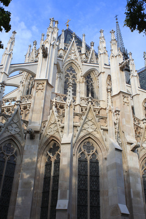 votive: Votive Church, Vienna, Austria Stock Photo