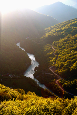 tara: Tara Canyon and river Tara in Bosnia