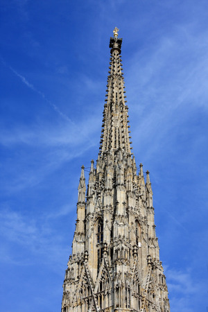 stephansplatz: Large cathedral, Stephansplatz, Vienna, Austria, Stock Photo