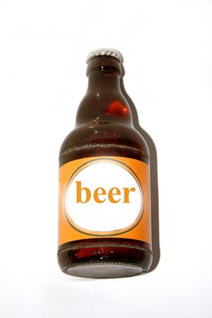 botle: One single Beer bottle