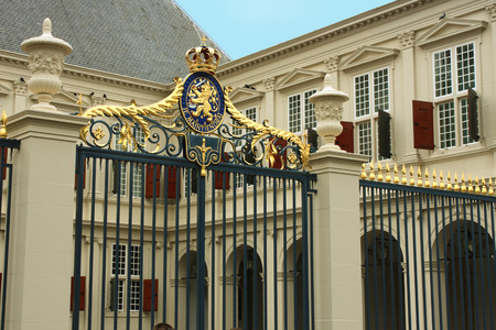 beatrix: Noordeinde Palace (from 1533) is one of the three official palaces of the Dutch royal family. Located in The Hague, Holland. Editorial