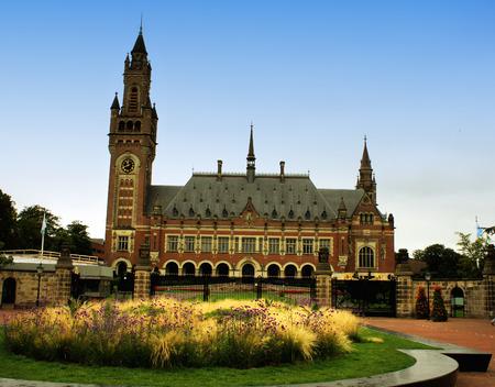 un: UN Peace palace in Holland Editorial