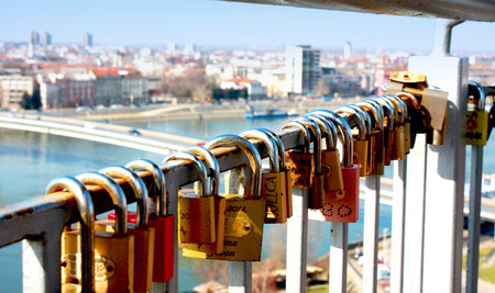 everlasting: a lock as a symbol of everlasting love