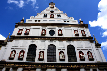 christendom: Saint Michaels Church in Munich is the largest Renaissance Church north of the Alps