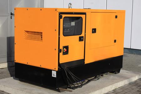 alternateur: Jaune auxiliaire Diesel Eenerator pour urgence Electric Power