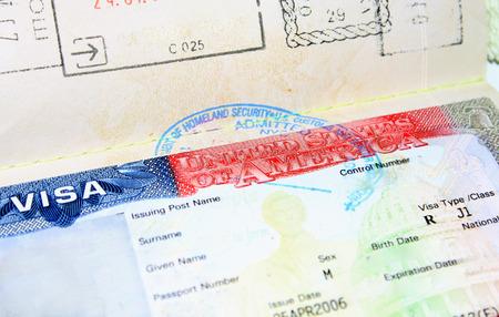 visa J1 EE.UU. vacío para el hombre