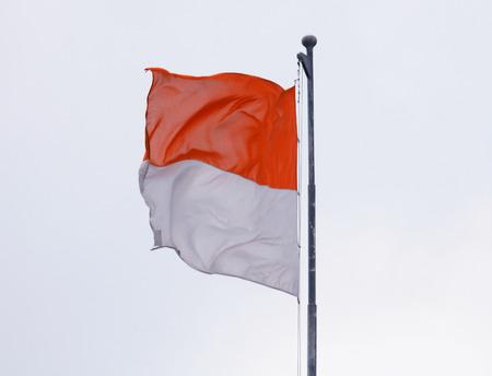 Indonesian flag Stock Photo