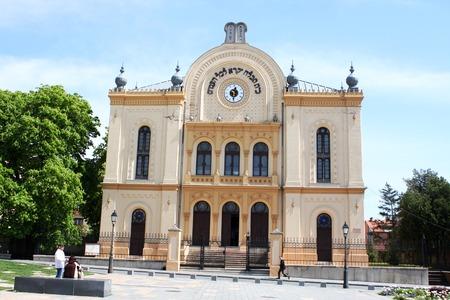 synagogue: synagogue at Pecs, Hungary on Kossuth Square.