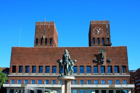 gildhall: City Hall (Radhuset), Oslo, Norway