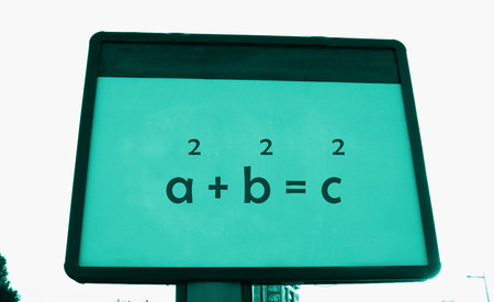 theorem: Pythagoras s theorem on a billboard