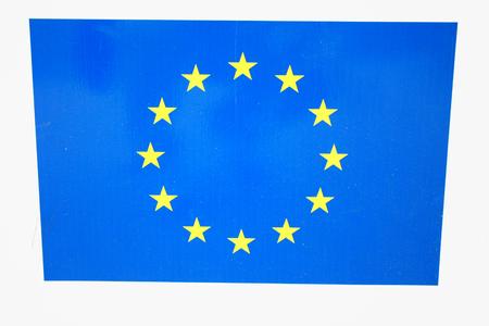 The European Union (EU) is a politico-economic union of 28 member states Stock Photo