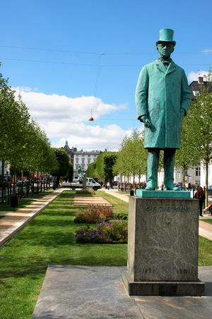 Carl Frederik Tietgen monument -  Danish financier and industrialist
