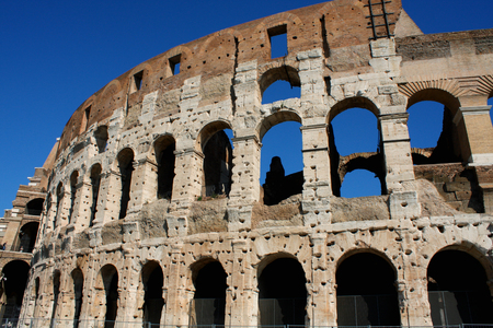 Coloseum in Rome Italy Stock Photo