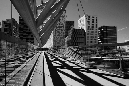amasing: Amasing Akrobaten pedestrian bridge in Oslo, Norway
