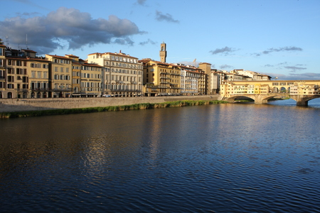 Panoramic view over Panoramic view over Florence Italy with city river, Tuscany, Italy. Italy with city river, Tuscany, Italy.