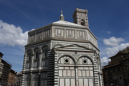 Florence Baptistery (Battistero di San Giovanni, Baptistery of Saint John), Italy