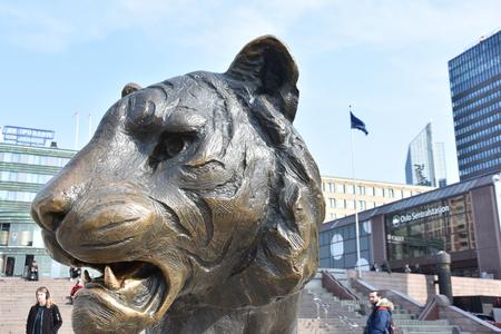 tiger statue in Oslo