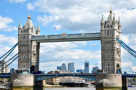 Tower bridge in London, Great Britain Reklamní fotografie