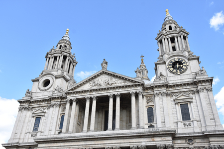 St Paul Cathedral, London, Great Britain.